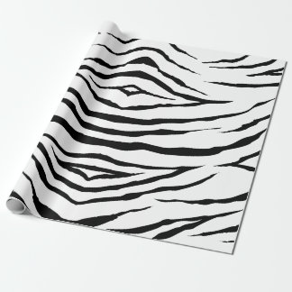 "Zebra Wrapping Paper, 30"" x 6' Wrapping Paper"