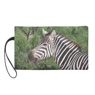 Zebra Wristlet Purse