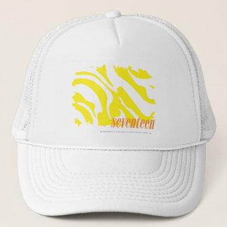 Zebra Yellow 2 Trucker Hat