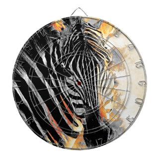 zebra #zebra dartboard