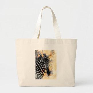 zebra #zebra large tote bag