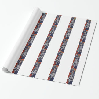 Zebra Zebras African Stripes Wrapping Paper