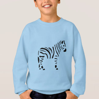 Zebra Zebras Animals Cartoon Sweatshirt