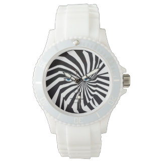 Zebraface wrist watch