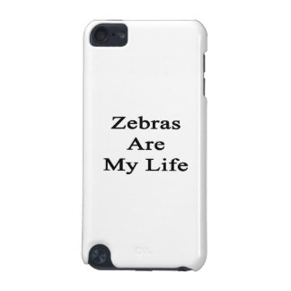 Zebras Are My Life iPod Touch (5th Generation) Case