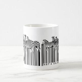 zebras barcode basic white mug