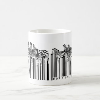zebras barcode coffee mugs