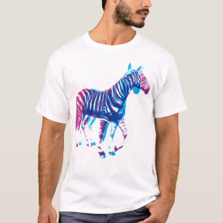 Zebras - Blue & Purple T-Shirt