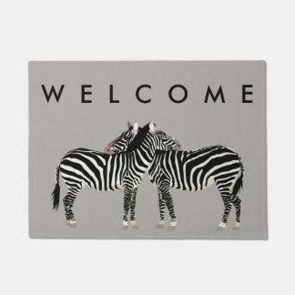Zebras Doormat