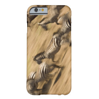 Zebras (Equus quagga) and wildebeest Barely There iPhone 6 Case