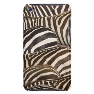 Zebras' (Equus quagga) stripes, Masai Mara, iPod Touch Covers