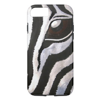 Zebra's Eye (Kimberly Turnbull Art) iPhone 8/7 Case