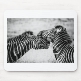Zebras In Africa Mouse Mat