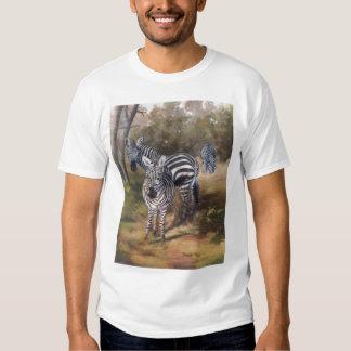 Zebras Mens Tshirt