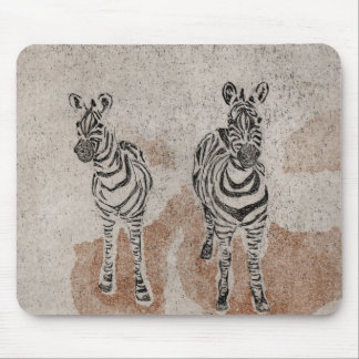 Zebras Mouse Mat