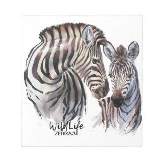 Zebras Notepad