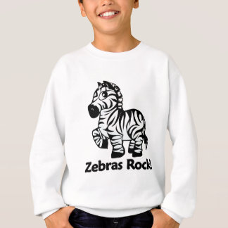 Zebras Rock! Sweatshirt