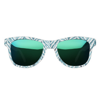 ZEBRAT Safari Zebra Print Watercolor Sunglasses