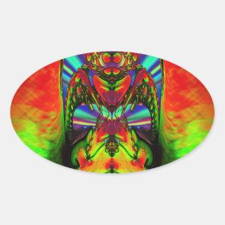 Zed Oval Sticker
