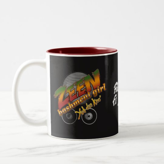Zeen Bashment Girl Mug