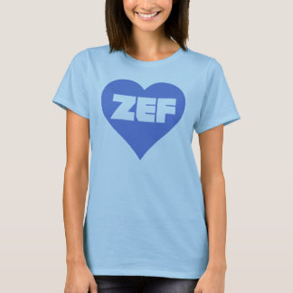 ZEF BLUE T-Shirt