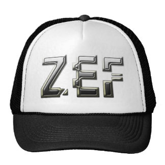 ZEF cool Trucker Hats