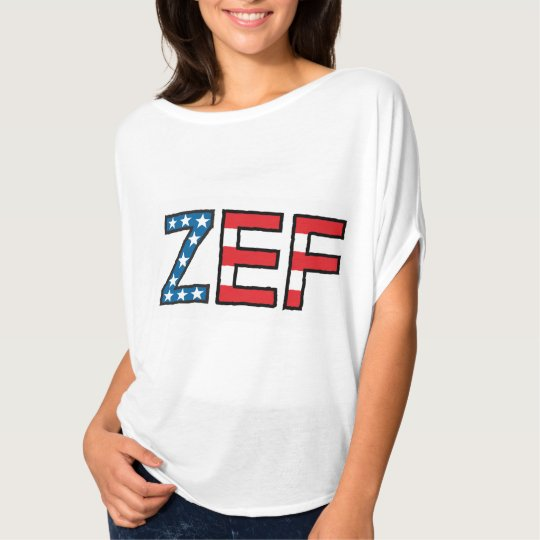ZEF Stars & Stripes Women's T-Shirt