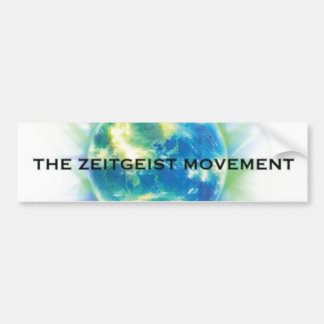 Zeitgeist Movement Bumper Sticker