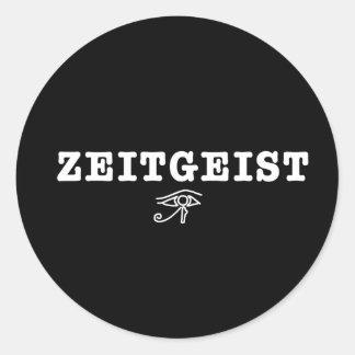 Zeitgeist Round Sticker