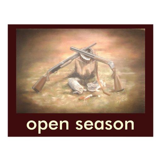 zeko1, open season full color flyer