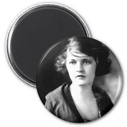 Zelda Fitzgerald, 1900-1948 6 Cm Round Magnet