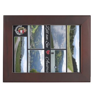 Zell am See, Austria custom keepsake box