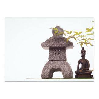 Zen 13 Cm X 18 Cm Invitation Card