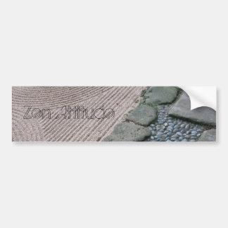 Zen & Abstract Bumper Sticker