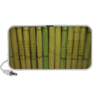 Zen Asian Green Bamboo Stalks Botanical Photo Travel Speaker