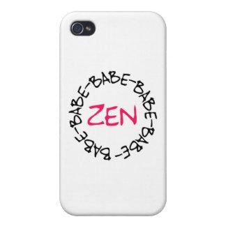Zen Babe iPhone 4 Cases