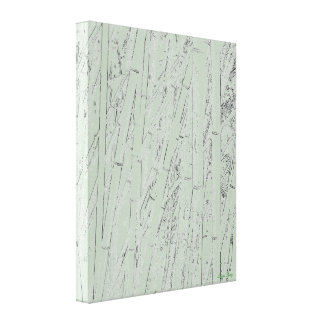 'Zen Bamboo I' Wrapped Canvas Print