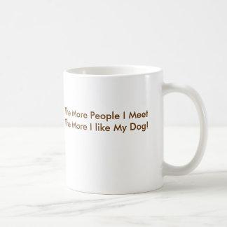 Zen Barks Basic White Mug