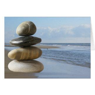 Zen beach card
