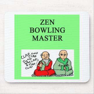 zen bowling master mousepads