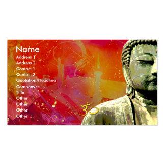 Zen Buddha Business card, urbanized