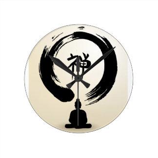 Zen Buddha clock