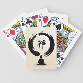 Zen Buddha deck of cards