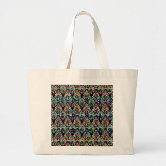 Zen Buddha Large Tote Bag