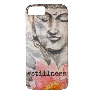 Zen Buddha Lotus iPhone Case