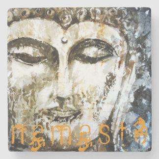 Zen Buddha Namaste Stone Coaster