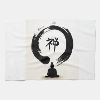 Zen Buddha towel
