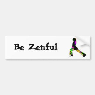 zen bumper stickers