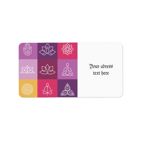 zen,chakra,yoga,peace,ohm,tranquilty,lotus,meditat label