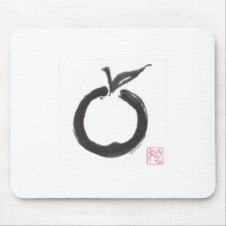 Zen Circle Apple Mouse Mat